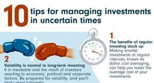 Read more about the article 10 tips for investing in uncertain times