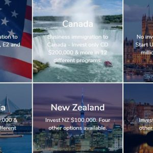Residency and Citizenship By investment and business immigration programs